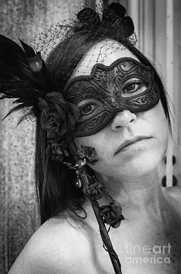 Photograph - Portrait Of April by Kathleen K Parker