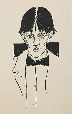 Of Artist Photograph - Portrait Of Aubrey Beardsley by British Library