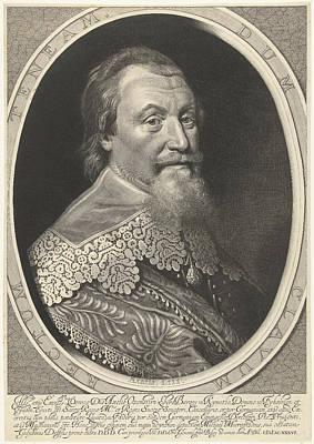 Portrait Of Axel Oxenstierna Art Print by Willem Jacobsz. Delff