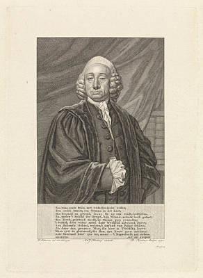 Portrait Of Bavius Voorda, Theodoor Koning Art Print