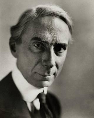 Portrait Of Bertrand Russell Art Print by Florence Vandamm