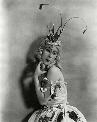 Photograph - Portrait Of Bronislava Nijinska In Costume by Florence Vandamm
