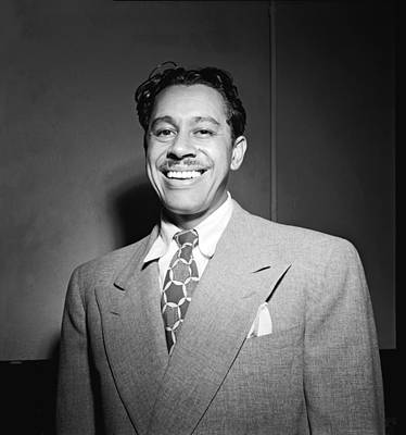 Of Artist Photograph - Portrait Of Cab Calloway by William Gottlieb