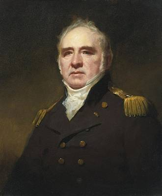 James Painting - Portrait Of Captain James Forbes-drummond by Celestial Images