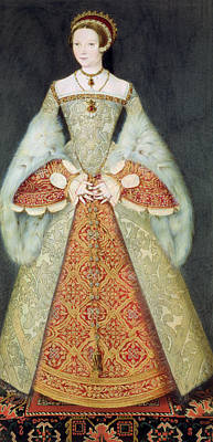 Portrait Of Catherine Parr , 1545 Art Print
