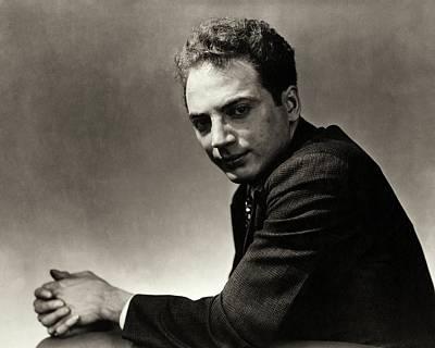 Photograph - Portrait Of Clifford Odets by Lusha Nelson