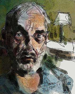Mixed Media - Portrait Of Cobol by Jim Vance