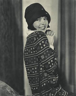 Cloche Hat Photograph - Portrait Of Colleen Moore by Edward Steichen