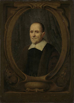 Auditors Drawing - Portrait Of Cornelis Fransz Eversdijck, Mathematician by Litz Collection
