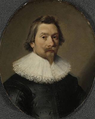 Portrait Of Cornelis Samuelsz Van Esch 159495-1656 Art Print by Litz Collection