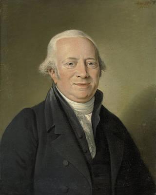 Portrait Of Cornelis Sebille Roos, Art Dealer In Amsterdam Art Print by Litz Collection