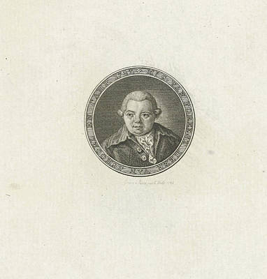 Hulk Drawing - Portrait Of Cornelis Van Foreest by Abraham Jacobsz. Hulk
