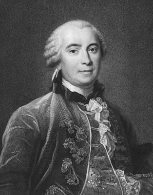 Portrait Of Count De Buffon Art Print by Underwood Archives