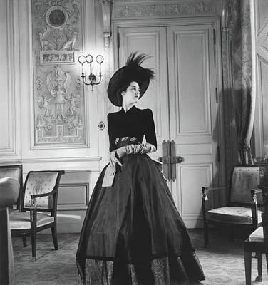 April 30 Photograph - Portrait Of Countess Charles Emmanuel De La by Horst P. Horst