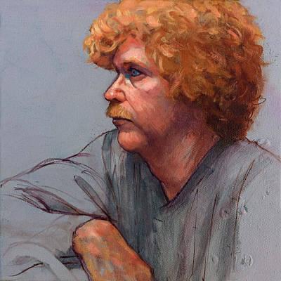 Portrait Of Craig Art Print