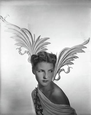 Photograph - Portrait Of Cynthia Boissevain by Horst P. Horst