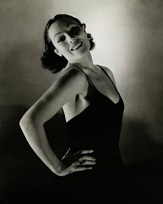 Del Rio Photograph - Portrait Of Dolores Del Rio by Edward Steichen