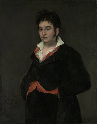 Ram Drawing - Portrait Of Don Ramón Satué, 1765-1824 by Quint Lox