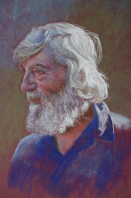 Painting - Portrait Of Doug Dale by Lynda Robinson