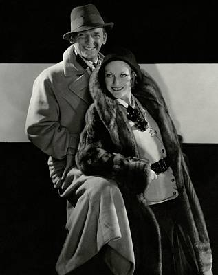 1930s Fashion Photograph - Portrait Of Douglas Fairbanks Jr And Joan by Edward Steichen