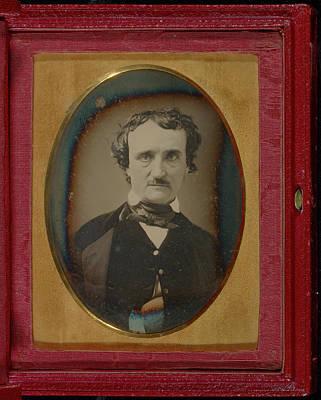 Edgar Allan Poe Drawing - Portrait Of Edgar Allan Poe Unknown Maker by Litz Collection