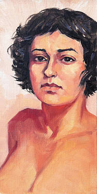 Painting - Portrait Of Elisa by Roz McQuillan
