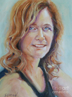 Painting - Portrait Of Elizabeth by Sally Simon