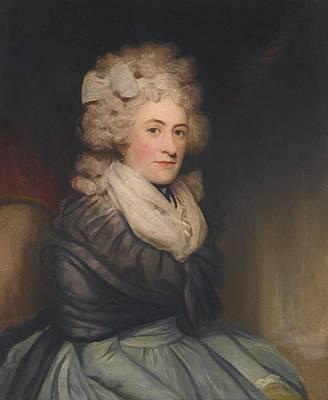 Portrait Of Emilia Charlotte Lennox Art Print by Celestial Images