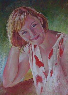 Painting - Portrait Of Emily by Lynda Robinson