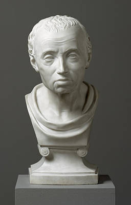 Portrait Of Emmanuel Kant  Art Print