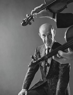 Photograph - Portrait Of Erich Leinsdorf by Reid Miles