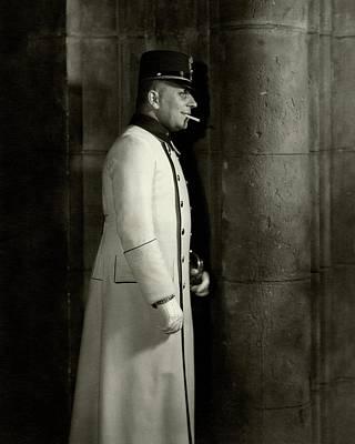 Photograph - Portrait Of Erich Von Stroheim by Edward Steichen