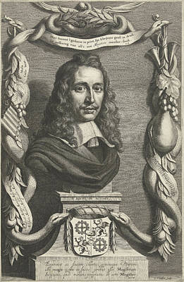 Portrait Of Esquire Everard Meyster, Cornelis Van Dalen II Art Print