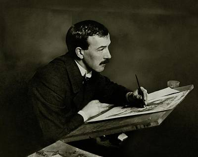 Artist Working Photograph - Portrait Of F H Howard by Elliott & Fry