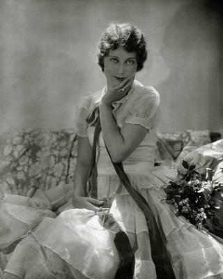 Fay Photograph - Portrait Of Fay Wray by Edward Steichen
