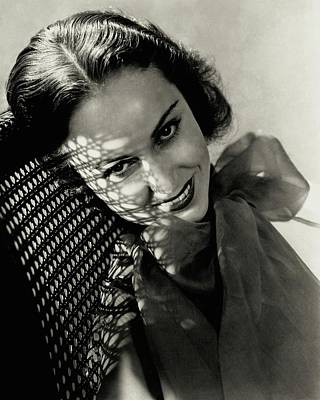 Photograph - Portrait Of Fay Wray by Lusha Nelson