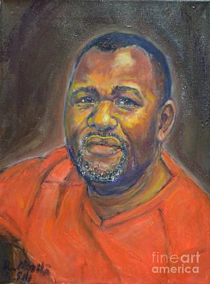 Painting - Portrait Of Felly by Raija Merila