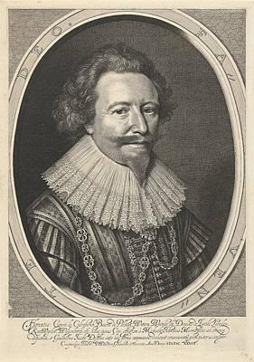 Portrait Of Floris II, Count Of Pallandt Art Print by Willem Jacobsz. Delff And Michiel Jansz Van Mierevelt