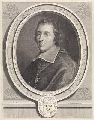 Portrait Of Franois II The Nesmond, Pieter Van Schuppen Art Print