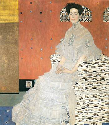 Painting - Portrait Of Fritza Riedler by Gustav Klimt
