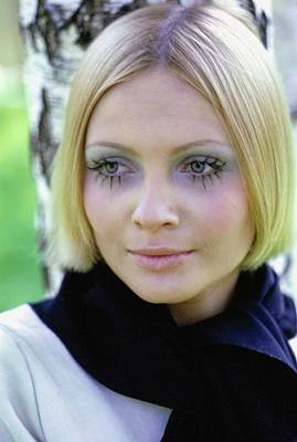 Photograph - Portrait Of Galya Milovskaya by Arnaud de Rosnay