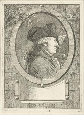 1781 Painting - Portrait Of Geerlig Grijpmoed, Hermanus Fock by Hermanus Fock