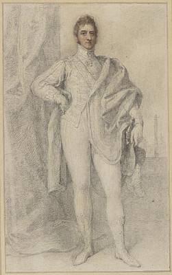 Portrait Of George, 5th Duke Art Print by Richard Cosway