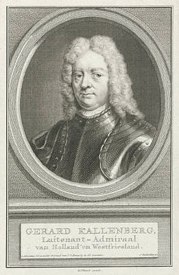 Portrait Of Gerard Callenburgh, Jacob Houbraken Art Print