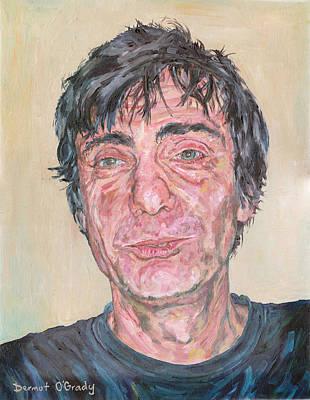 Character Portraits Painting - Portrait Of Giacomo Farioli by Dermot OGrady