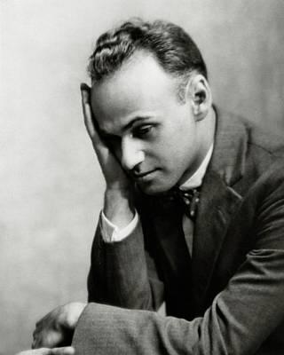 Gilbert Photograph - Portrait Of Gilbert Seldes by Nickolas Muray