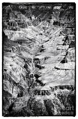 Portrait Of Grand Canyon Art Print