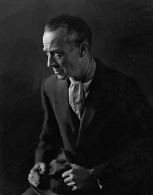 Ascot Photograph - Portrait Of H. B. Warner by Edward Steichen