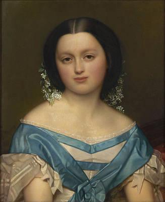 Portrait Of Henriette Mayer Van Den Bergh Art Print by Celestial Images