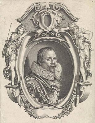Portrait Of Henry Arentsen Vapoer, Simon Van De Passe Art Print by Simon Van De Passe